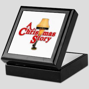A Christmas Story Movie Lamp Keepsake Box