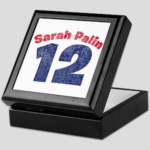Sarah Palin 12 2 Keepsake Box