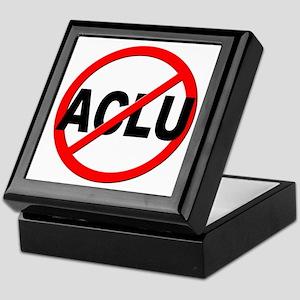 Anti / No ACLU Keepsake Box