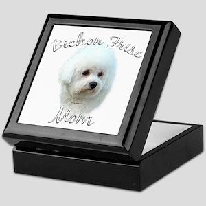 Bichon Mom2 Keepsake Box