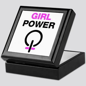 Girl Power Keepsake Box