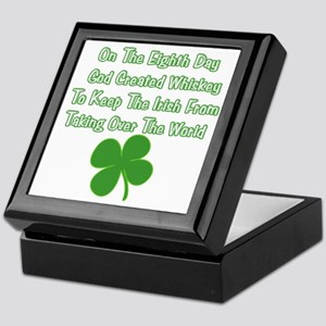 Irish Whiskey Keepsake Box