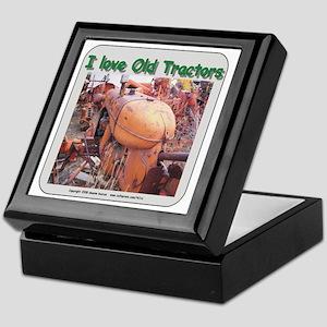 I love old AC tractors Keepsake Box
