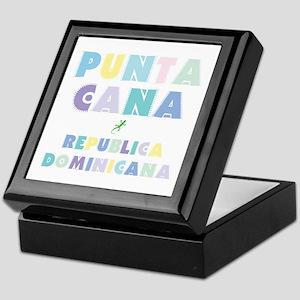 Punta Cana Island Colors Block Keepsake Box