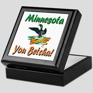 Minnesota You Betcha Keepsake Box