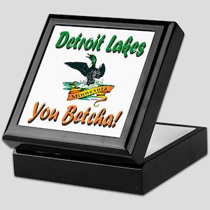 Detroit Lakes 'You Betcha' Loon Keepsake Box