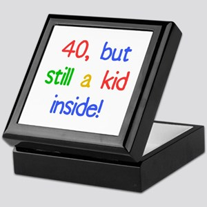 Fun 40th Birthday Humor Keepsake Box
