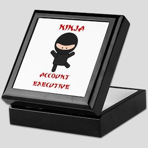 Ninja Account Executive Keepsake Box
