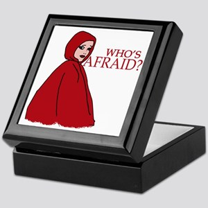 RED RIDING HOOD Who's Afraid? Keepsake Box