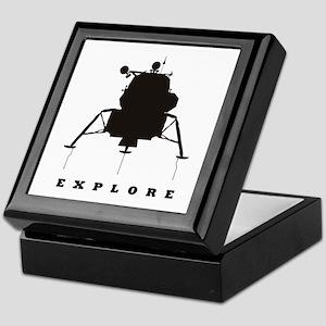 Lunar Module / Explore Keepsake Box
