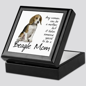 Beagle Mom Keepsake Box
