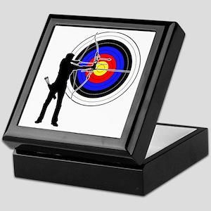 archery man Keepsake Box