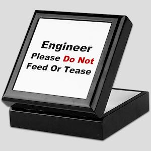 Engineer: Please Do Not Feed Keepsake Box