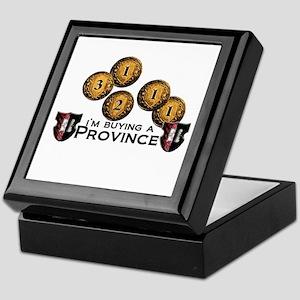 I'm buying a province. Keepsake Box