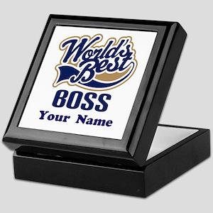 Personalized Boss Keepsake Box