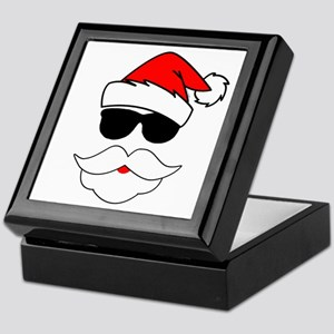 Cool Santa Claus Keepsake Box