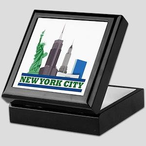 New York City Skyline Keepsake Box