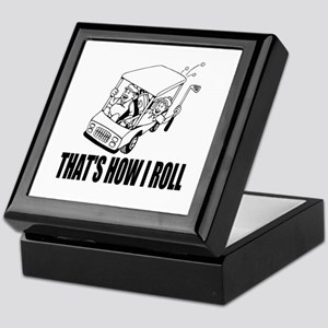 Funny Golf Quote Keepsake Box