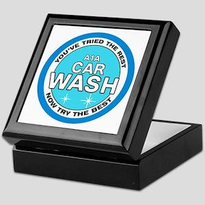 A1A Car Wash Keepsake Box