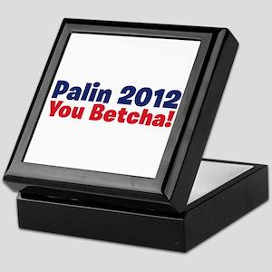 Palin You Betcha Keepsake Box