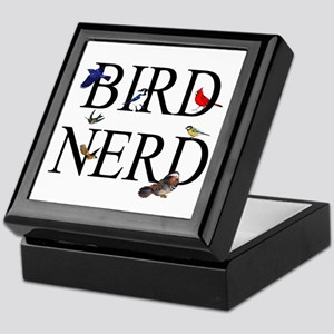 Bird Nerd Keepsake Box