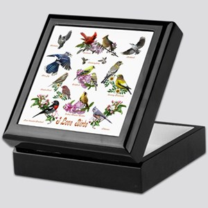 12 X T birds copy Keepsake Box
