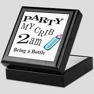partymy crib Keepsake Box