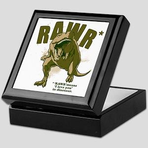 Rawr-Dinosaur Keepsake Box