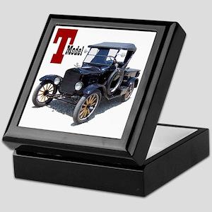T-truck-10 Keepsake Box