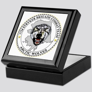 Army-172nd-Stryker-Bde-Arctic-Wolves- Keepsake Box