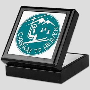 Chairway to Heaven Keepsake Box