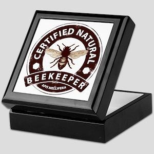 Certified Natural Beekeeper Keepsake Box