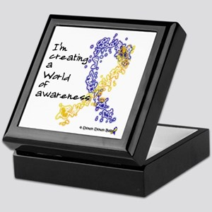 World of Down Syndrome Awareness (new Keepsake Box