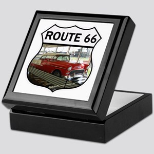 Route 66 Museum - Clinton, OK Keepsake Box