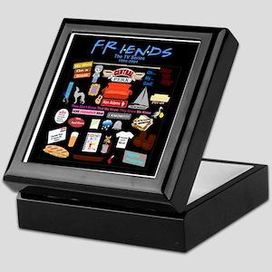 Friends Symbol and Quotes Keepsake Box