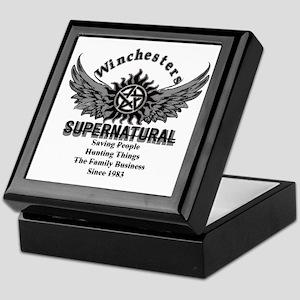Supernatural Winchesters Keepsake Box