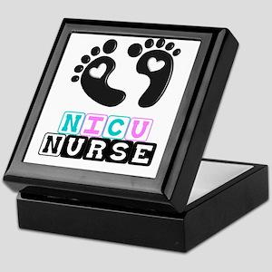 NICU Nurse 4 Keepsake Box