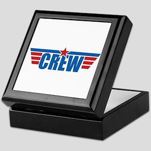 Aviation Crew Wings Keepsake Box