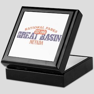 Great Basin National Park NV Keepsake Box