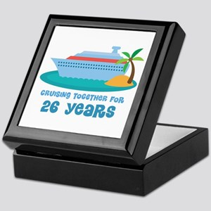 26th Anniversary Cruise Keepsake Box