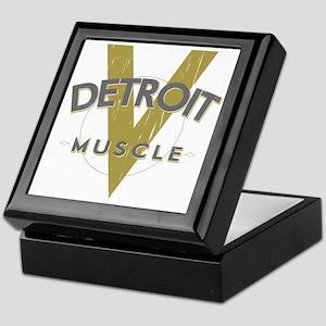 Detroit Muscle copy Keepsake Box