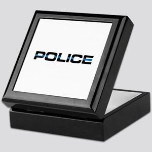Police Keepsake Box