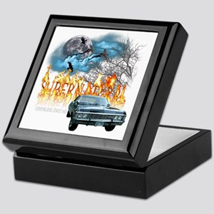 SUPERNATURAL 1967 chevrolet impala hu Keepsake Box