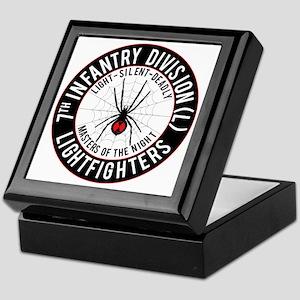 2012 Black Widow Design Keepsake Box