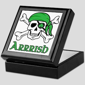 Irish Pirate Keepsake Box
