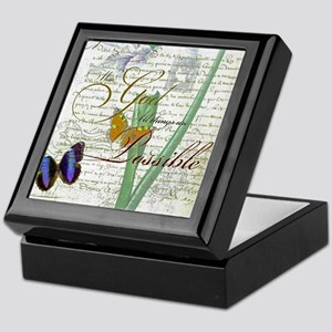 All things are possible Keepsake Box