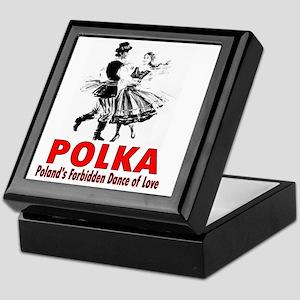 ART Polka 6 Keepsake Box