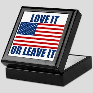 Love it or Leave it Keepsake Box