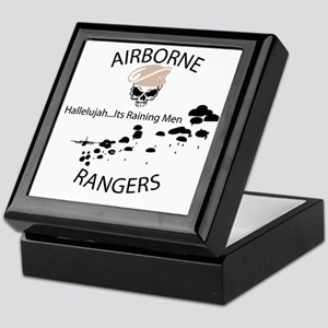 airborne ranger Keepsake Box