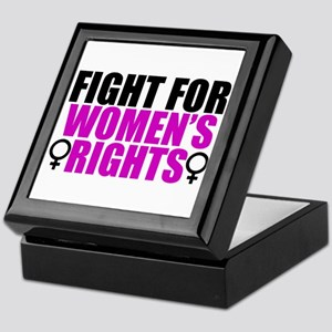 Women's Rights Keepsake Box